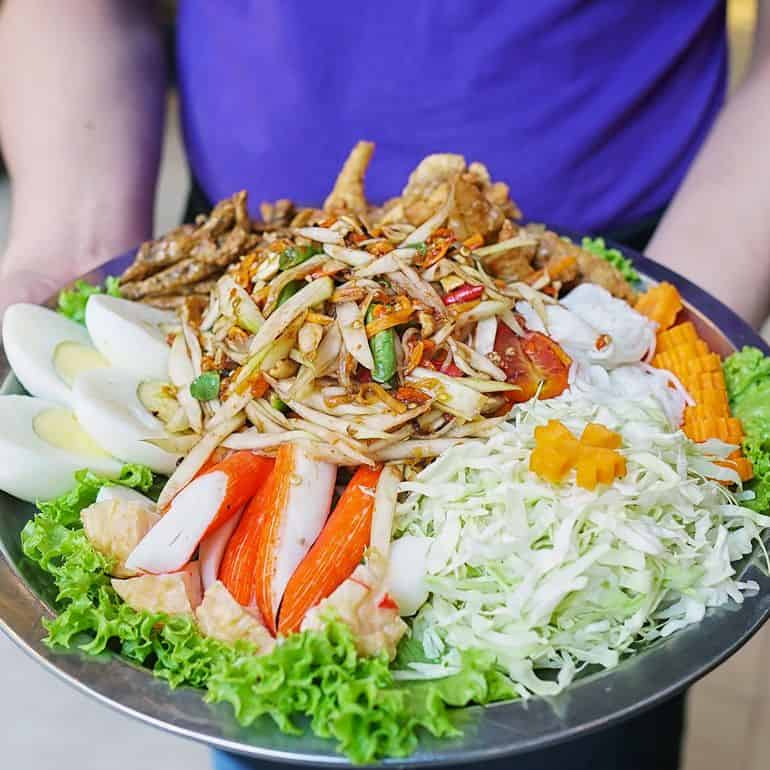 Best Thai restaurants in KL: The som tam platter at Streat Thai