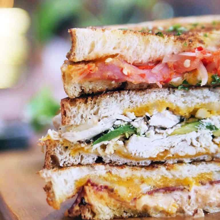 The Sandwich Trio at Huckleberry Food and Fare
