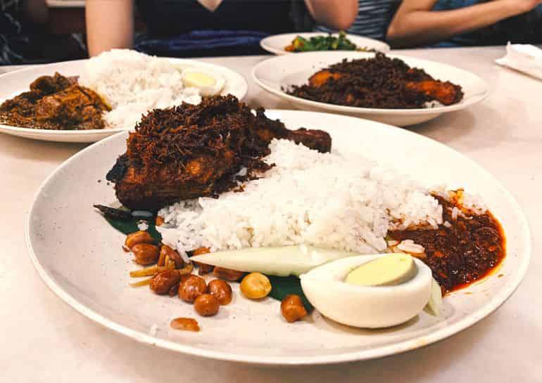 Village Park Restaurant's Nasi Lemak