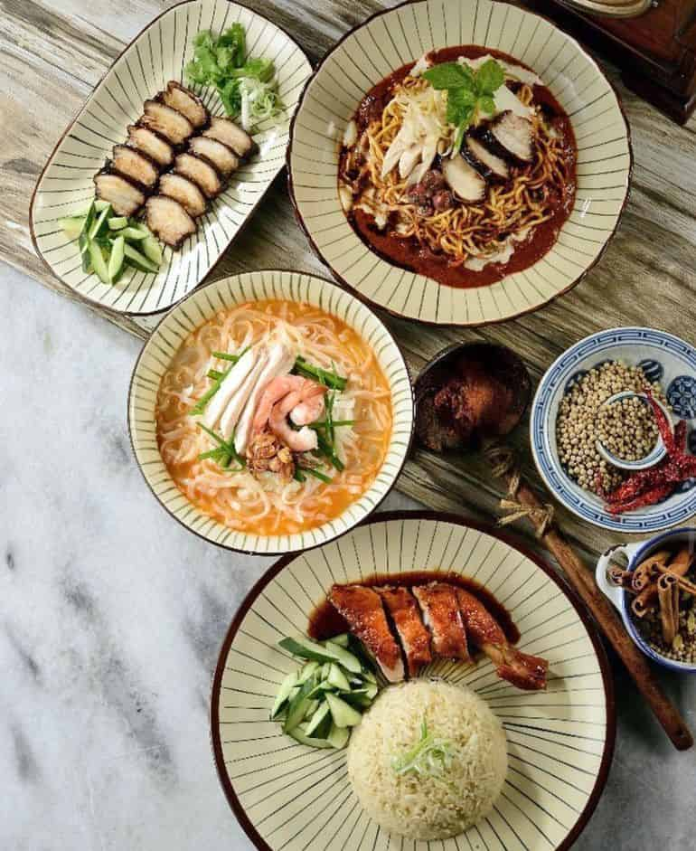 Nam Heong Ipoh's chicken rice, laksa and chicken hor fun