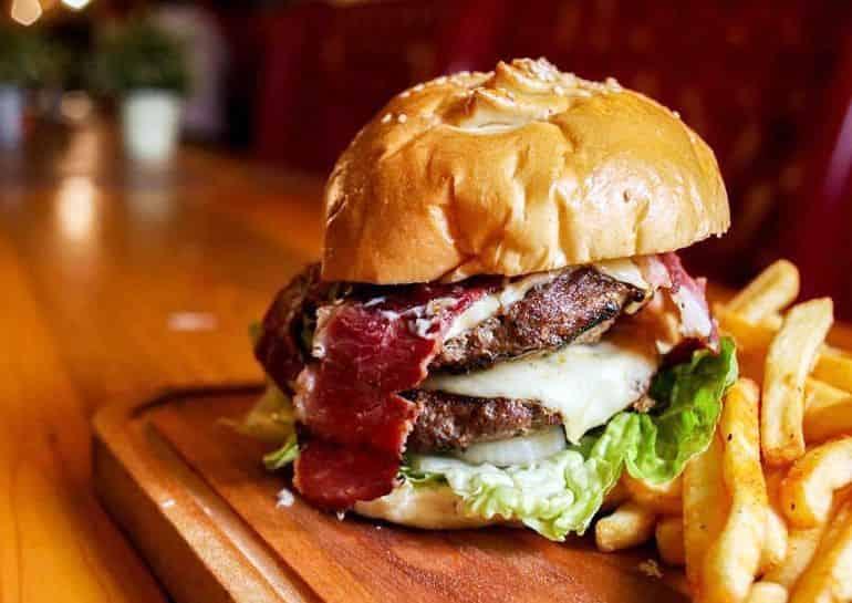 Best burgers in KL: Burger Bakar Kaw Kaw's burgers