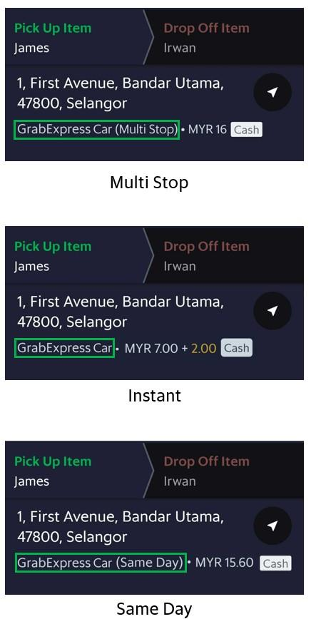 Grabexpress Car Grab My