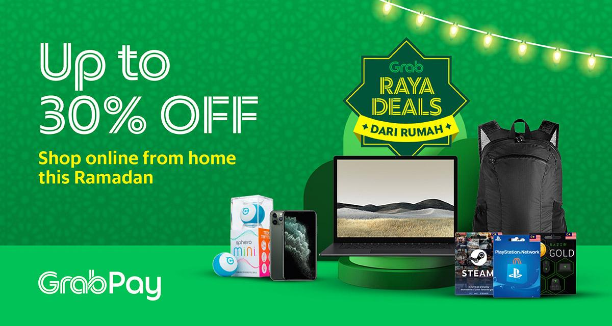 Great Online Raya Deals With Grabpay V2 Grab My