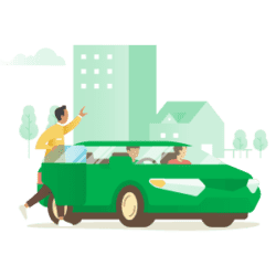GrabCar Icon