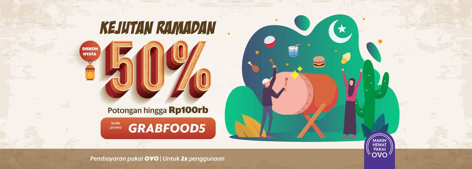 Serbu Menu Serba Setengah Harga Di Grabfood Yuk Grab Id