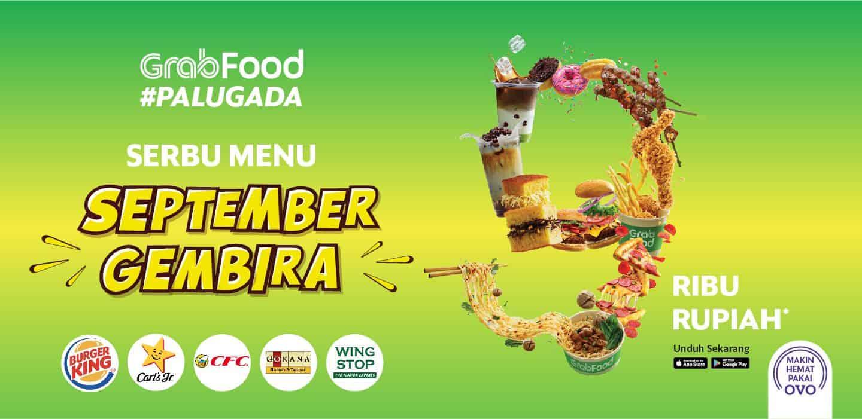 Serbu Menu Rp9 000 Di September Gembira Grabfood Palugada Grab Id