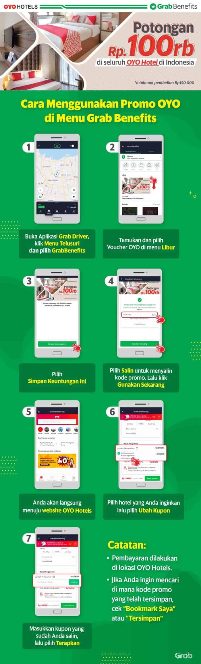 Grabcar Indonesia Diskon Spesial Di Oyo Hotel Seluruh Indonesia Grab Id