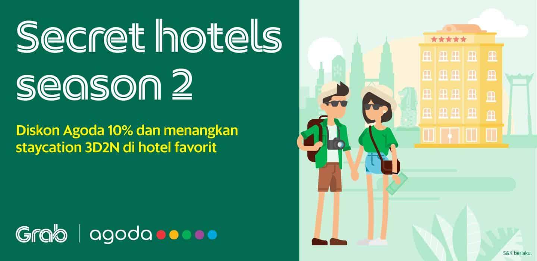 Pakai Diskon 10 Dan Menangkan Secret Hotels Season 2 Grab Id
