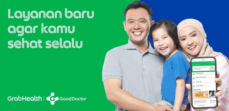 Aplikasi Grab Health