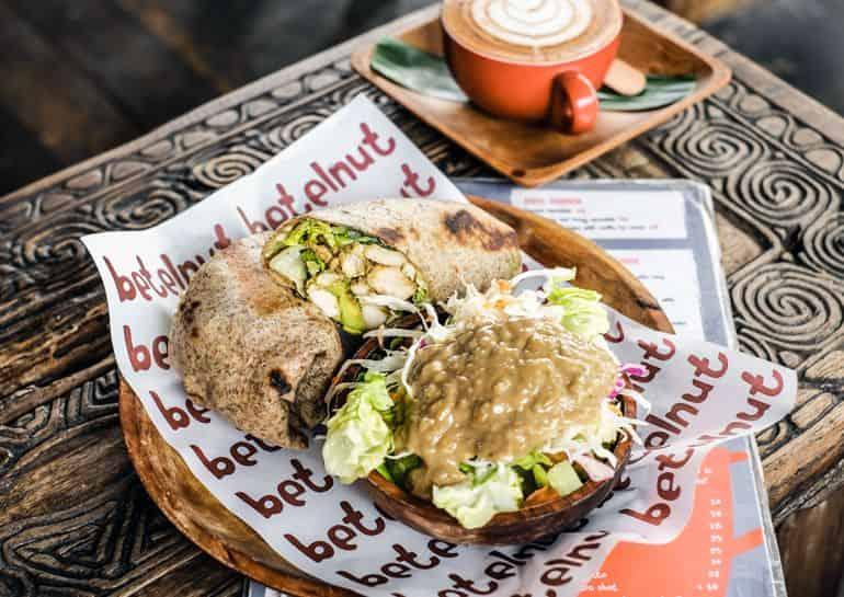 The Selamat Pagi breakfast plate at Betelnut Café