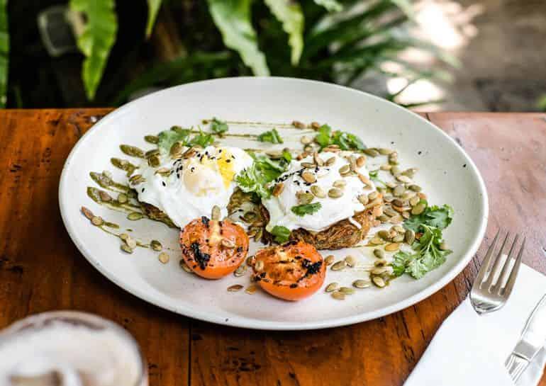 When Eggs Meet Haloumi at Koloni Café, Canggu