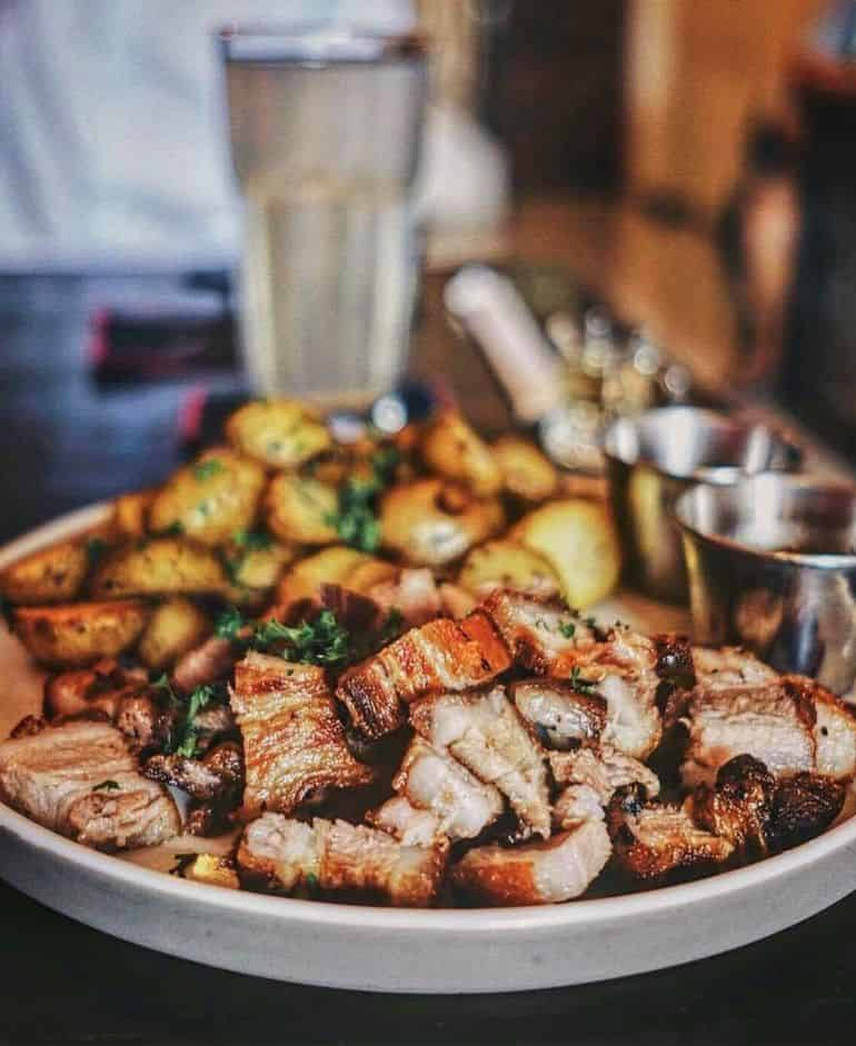 Kuta Restaurant: Pork Star
