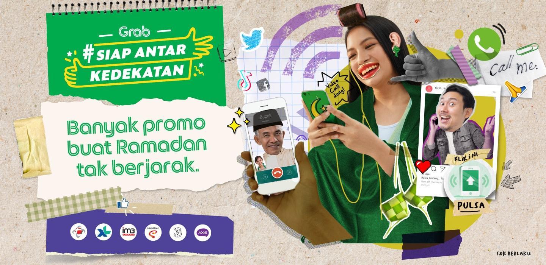 Ramadan Tak Berjarak Dengan Diskon Pulsa Dan Paket Data Grab Id