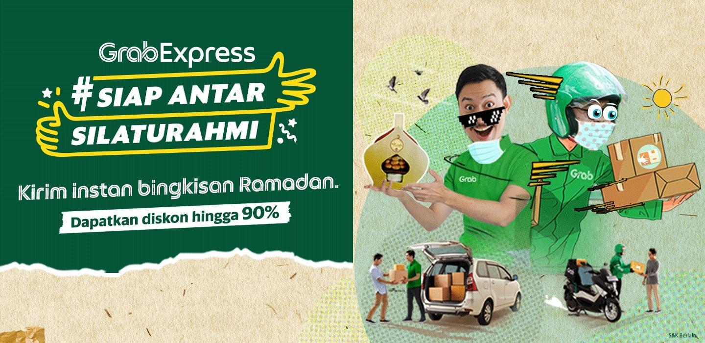 Diskon Grabexpress S D 90 Untuk Kirim Bingkisan Ramadanmu Grab Id