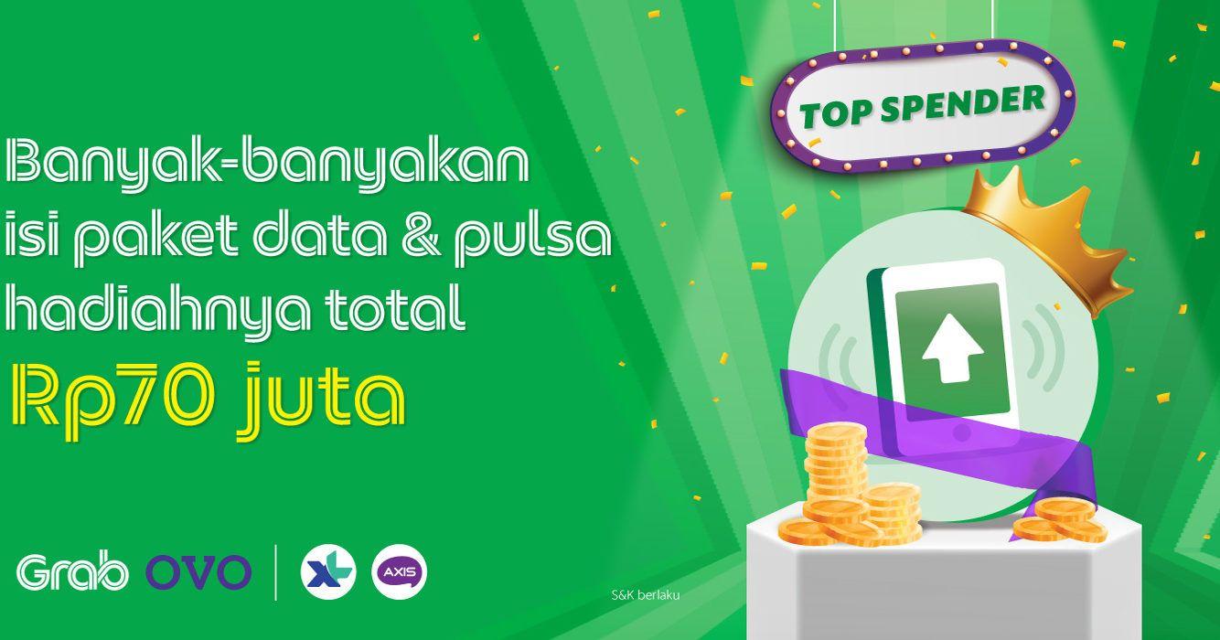 Grab Bagi Bagi Hadiah Total Rp70 Juta Buat 165 Pelanggan Grab Id