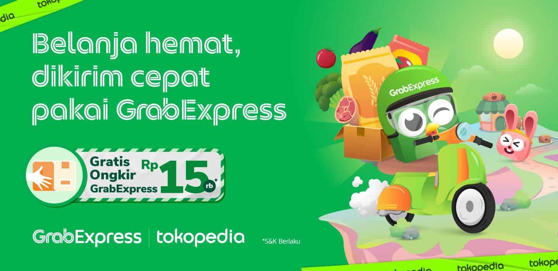 Grabexpress Instant Gratis Ongkir Di Tokopedia Grab Id