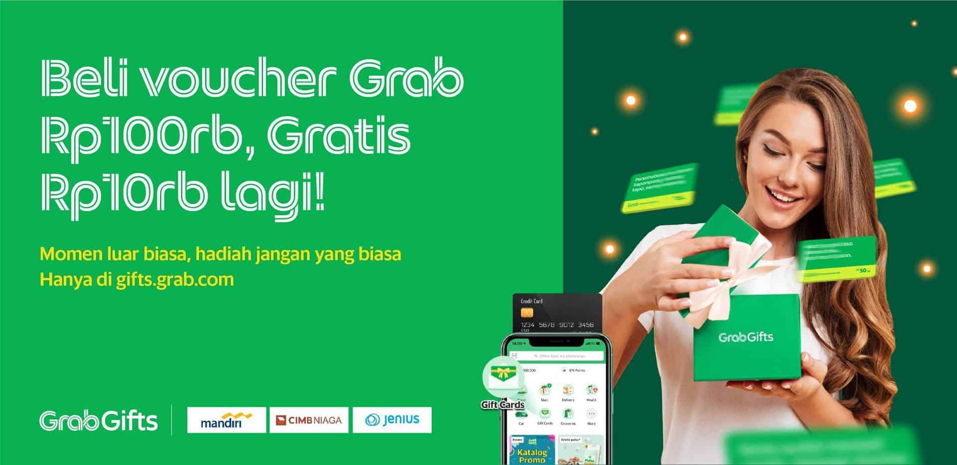 Beli Grabgifts Kini Makin Hemat Dengan Promo Bank Eksklusif Grab Id
