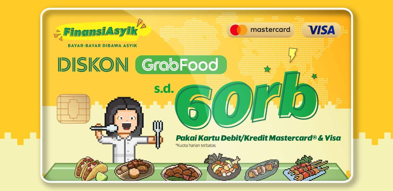 Cobain Bayar Grabfood Pakai Kartu Debit Dan Kredit Diskon S D Rp60rb Grab Id